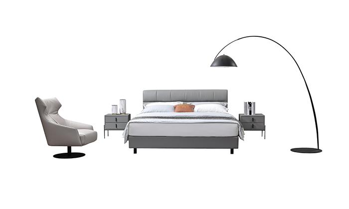 卧室设计,软床实力厂家的选择搭配有讲究